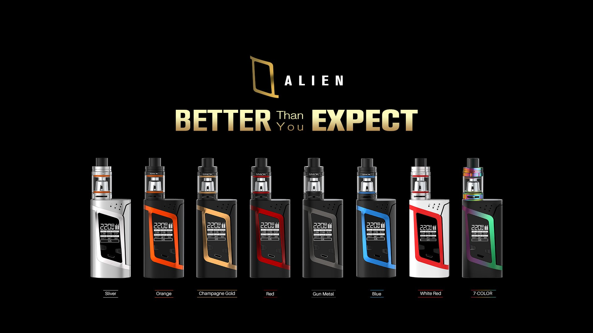 SMOKTECH ALIEN 220W KIT