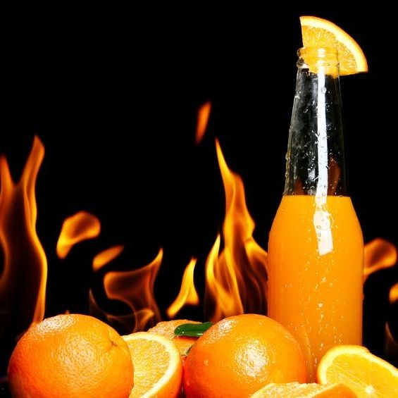 Orange Fire - Kosher For Passover
